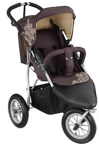 knorr baby Joggy S Kinderbuggy mit Lufträdern