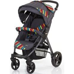 ABC Design Avito Sportkinderwagen rainbow
