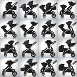 Baby Jogger City Select Kinderwagen Ruby alle Möglichkeiten auf einen Blick